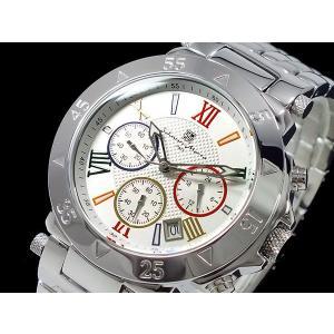 サルバトーレマーラ 腕時計 クロノグラフ メンズ SM8005-WHCL|recommendo