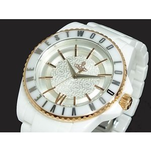 ヴィヴィアン ウエストウッド セラミック 腕時計 レディース VV048RSWH|recommendo