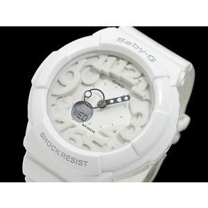 カシオ CASIO ベイビーG BABY-G ネオンダイアル 腕時計 BGA131-7B ホワイト|recommendo