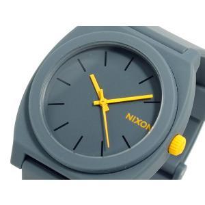 ニクソン NIXON タイムテラーP TIME TELLER P 腕時計 ユニセックス A119-1244 スチールグレー|recommendo