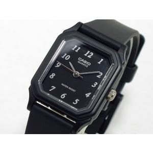 カシオ CASIO クオーツ 腕時計 レディース LQ142-1B ブラック|recommendo