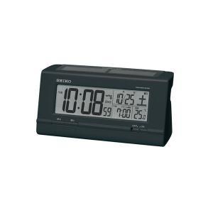 セイコー SEIKO ソーラー電波時計 目覚まし時計 SQ766K recommendo