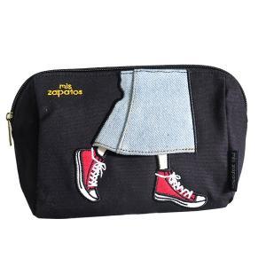 ミス サパト mis zapatos ロングスカート ポーチ レディース B-6544-BK ブラック|recommendo