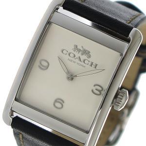 コーチ COACH クオーツ レディース 腕時計 14502830 アイボリー 1941年、ニューヨ...
