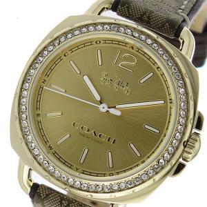コーチ COACH ティタム クオーツ レディース 腕時計 14502770 ゴールド 1941年、...