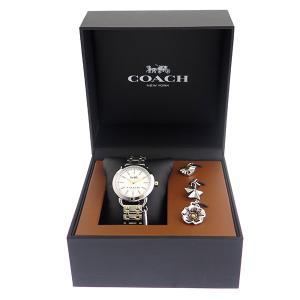 コーチ COACH チャームセット クオーツ レディース 腕時計 時計 14502809 ホワイト|recommendo