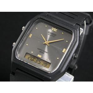 カシオ CASIO 腕時計 アナデジ AW48HE-8A|recommendo