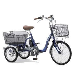 フランスベッド 電動アシスト三輪自転車 ブルー ASU-3WT3 電動 自転車 代引不可|recommendo