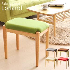 スツール ファブリック 布地 天然木 椅子 チェア 天然木脚ファブリックスツール RAWRRY〔ローリー〕 長方形タイプ|recommendo