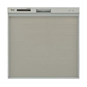 リンナイ 食器洗い乾燥機 RSW-404A-SV シルバー 食器乾燥機 食洗機 代引不可|recommendo