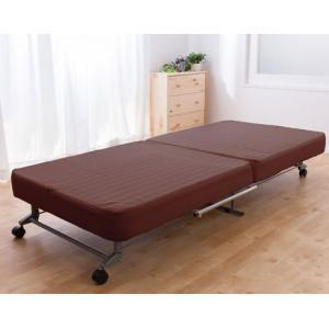 洗える替えカバー式 折りたたみベッドシングル|recommendo