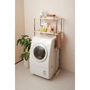 積水樹脂 ステンレス洗濯機ラック SSR-20 ランドリーラック recommendo