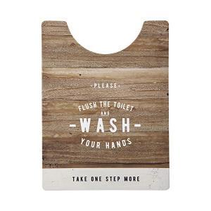ベストコ トイレマット ロング ルール ナチュラル さらっと拭ける お手入れ簡単 ND-9974|recommendo