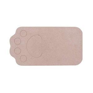 ベストコ さらっと 珪藻土マット 46×24.5cm ブラウン ペット用 洗える ND-9151