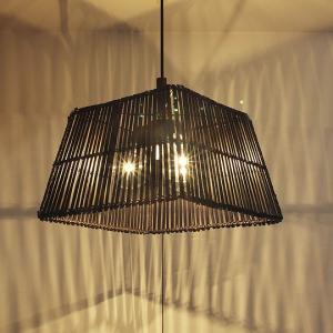 ペンダントライト BAMBOO角(バンブー)3灯照明