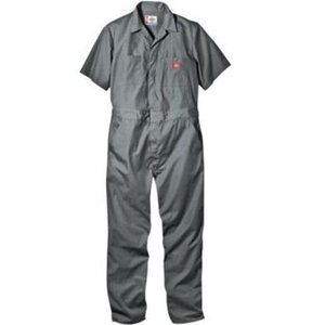 DICKIES ディッキーズ 半袖カバーオール #33999 SHORT SLEEVE COVERALL ディッキーズ グレー|recommendo
