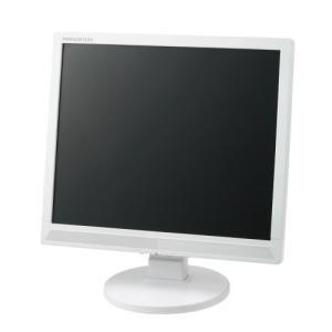 プリンストンテクノロジー 白色LEDバックライトパネル搭載 17インチ液晶ディスプレイ ホワイト PTFWCF-17