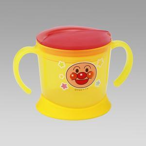 笑顔いっぱい!赤ちゃんに大人気アンパンマンのコップ。  はじめてのコップ飲みトレーニングに。  ゆっ...
