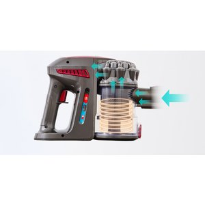 掃除機 サイクロン 吸引力 2WAY コードレス掃除機 スティッククリーナー SP-RCL4W simplus シンプラス コードレスクリーナー|recommendo|12