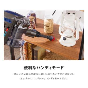 掃除機 サイクロン 吸引力 2WAY コードレス掃除機 スティッククリーナー SP-RCL4W simplus シンプラス コードレスクリーナー|recommendo|16