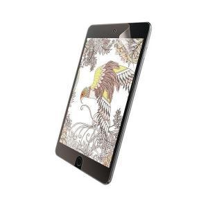 iPad mini 2019年モデルの液晶画面を傷や汚れから守る、指紋防止ペーパーライク反射防止タイ...