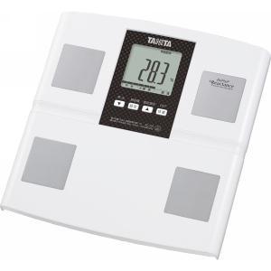 タニタ 体組成計 ホワイト 健康機器 体脂肪計 内臓脂肪計 体重計付体脂肪計 BC756WH 代引不可|recommendo