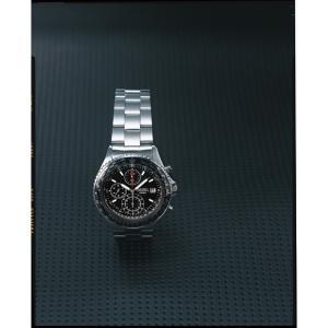 セイコー パイロットクロノグラフ腕時計 ブラッ...の関連商品5