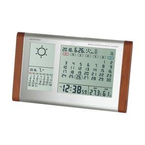 カレンダー天気電波時計 TB-834 代引不可