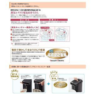 タイガー魔法瓶 蒸気レスVE電気まほうびん とく子さん 3.0L PIM-A300-T ブラウン 電気ポット recommendo 03