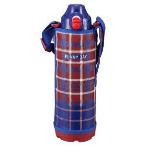 水筒 タイガー MBO-F100R レッドチェック ステンレス ボトル サハラ 1000 1.0リットル タイガー 保冷 保温 直飲み 子ども 卒業 入学の商品画像