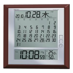 SEIKO 液晶マンスリーカレンダー機能付き電波...の商品画像