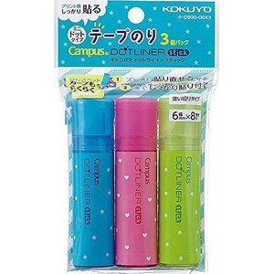 コクヨ ドットライナースティック 3コパック タ-D900-06X3 JANコード:49014802...