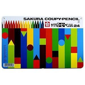 サクラ クーピー24色缶入 FY24の関連商品7