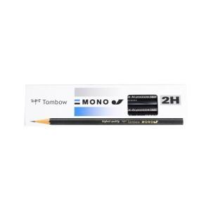 トンボ鉛筆 鉛筆 MONOJ 2H MONO-J2H 1ダース MONO-J2H