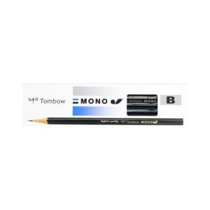 トンボ鉛筆 鉛筆 MONOJ B MONO-JB 1ダース MONO-JB