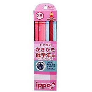 トンボ 書き方鉛筆六角プレーン MP-SKPW03-2B