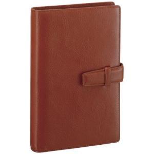 レイメイ藤井 システム手帳 ダヴィンチ スタンダード 聖書サイズ ブラウン DB3006C