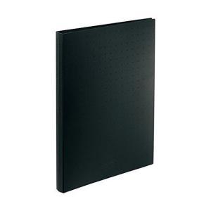 リヒト 名刺ファイル A4 300 黒 A-5042-24 1冊|recommendo