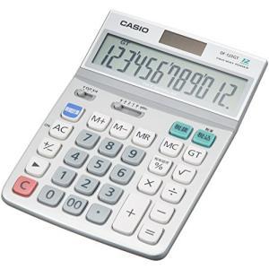 カシオ スタンダード電卓 時間・税計算 デスクタイプ 12桁 DF-120GT-N DF-120GT-N|recommendo