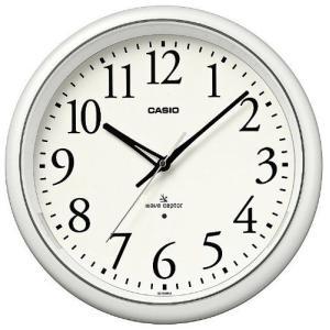CASIO (カシオ) 常時点灯機能付き 電波アナログ壁掛け時計 ホワイト IQ-1050NJ-7JF recommendo