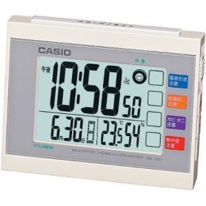カシオ 温度・湿度計付き 生活環境お知らせ電波クロック DQL-210J-7JF recommendo