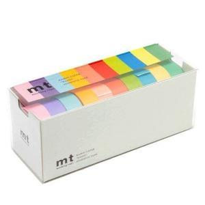 カモ井加工紙 マスキングテープ mt 10色セット 15mm幅×10m巻き 明るい色2 MT10P0...