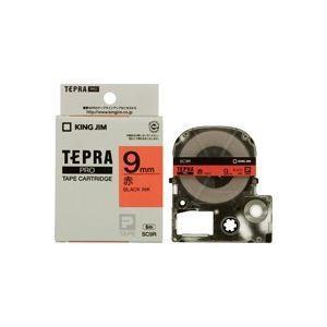 (業務用50セット) キングジム テプラPROテープ/ラベルライター用テープ 〔幅:9mm〕 SC9...
