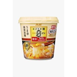 〔まとめ買い〕アサヒフーズ おどろき麺0(ゼロ) 酸辣湯麺 24カップ入り(6カップ×4ケース)