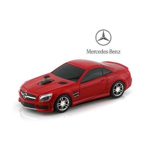 LANDMICE メルセデス ベンツ AMG (レッド) 無線マウス 2.4G BENZ-SL63A...