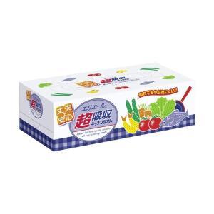 (まとめ買い)エリエール 超吸収キッチンタオル ボックス 75組×36セット