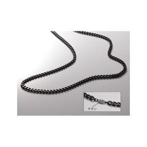 【商品名】Phiten(ファイテン) 炭化チタンチェーンネックレス 65CM TC00