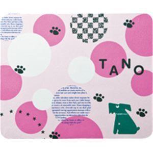 たのくん トラベルマウスパッド&液晶クリーナー ピンク