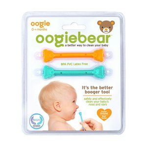 oogiebear ウーギーベア 赤ちゃんの鼻水・鼻くそ取り ウーギーベア お鼻掃除スコップ 2本入 オレンジ/シーフォーム ベビー|リコメン堂