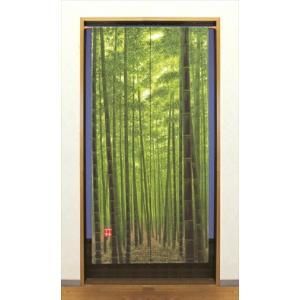 ロングのれん 竹林 のれん タペストリー 間仕切り カーテン(代引き不可)|recommendo